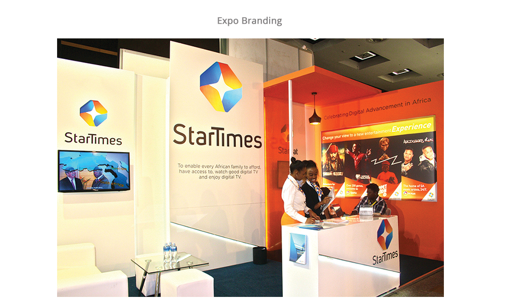events branding in Kenya